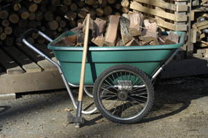 The Smart Cart In This Picture Is Over 15 Years Old And Is The Hardest  Working Piece Of Garden Equipment We Own. In The Winter, We Use It To Haul  Firewood ...